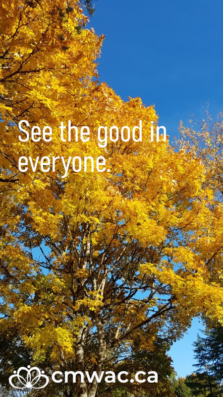 See the good in everyone